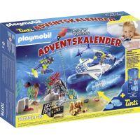 PLAYMOBIL® 70776 Adventný kalendár Nasadenie policajných potápačov