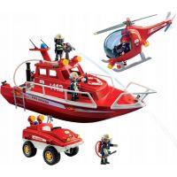 PLAYMOBIL® 9503 Požiarny set s podvodným motorom