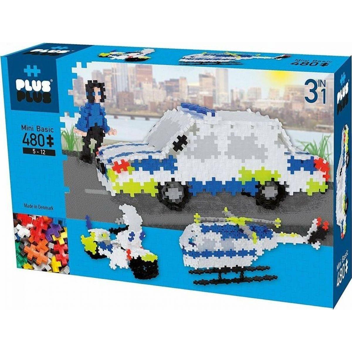 Plus Plus Pastel 480ks Polícia