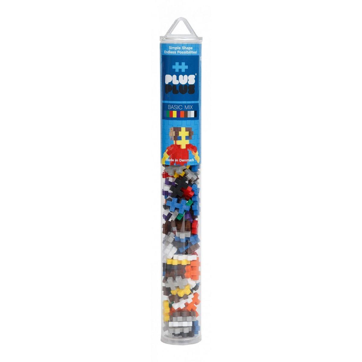 Plus Plus Tuba Mini Basic Mix 100 ks