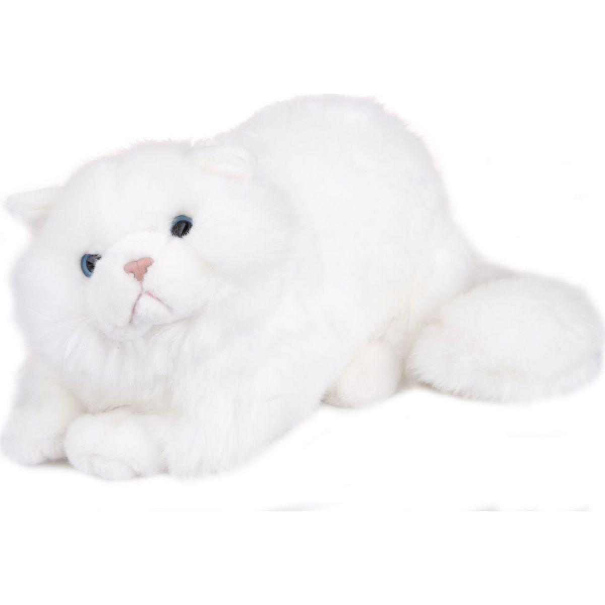 Kočka Bílá 38 cm