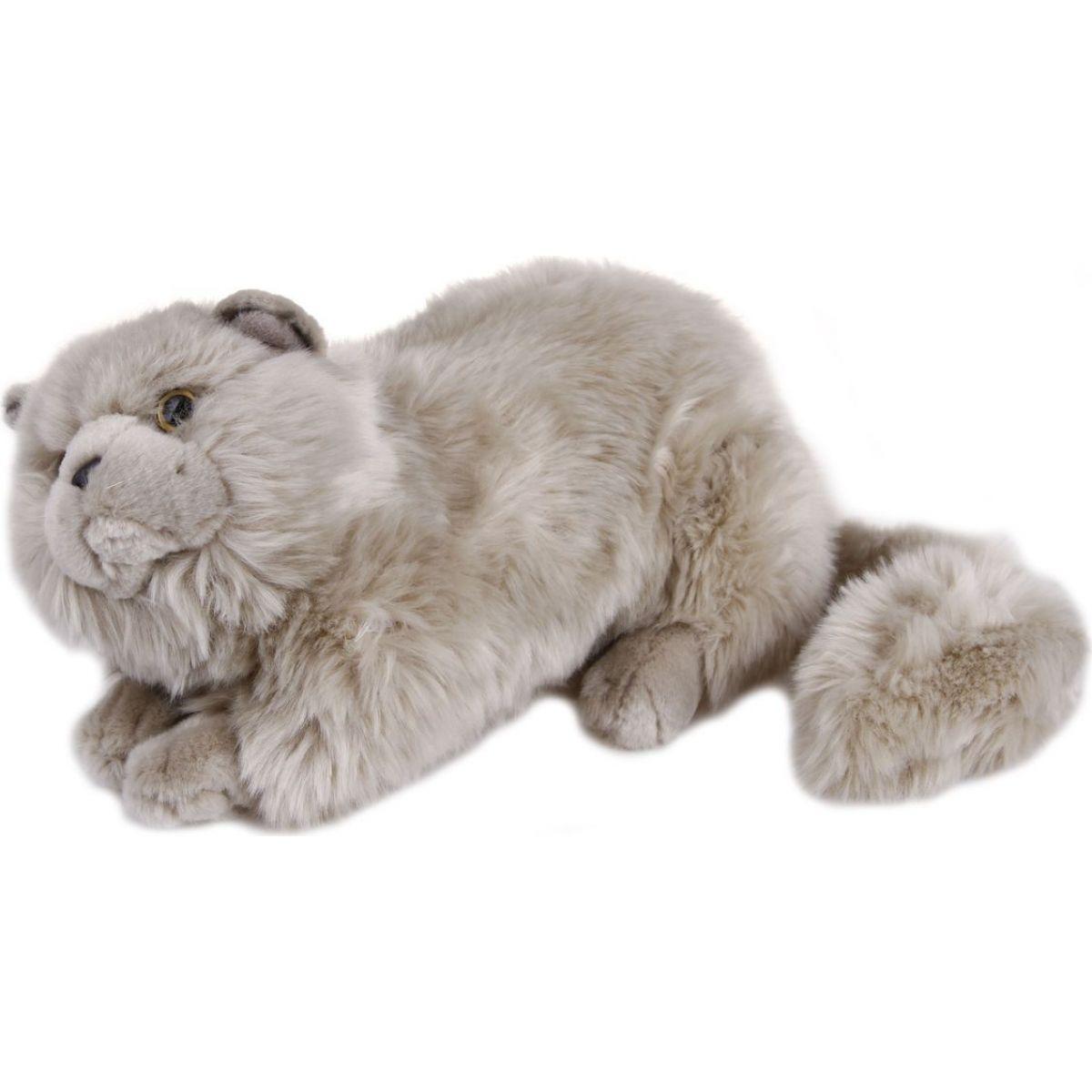 kočka Šedá 38 cm