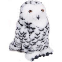 sova sněžná 25 cm