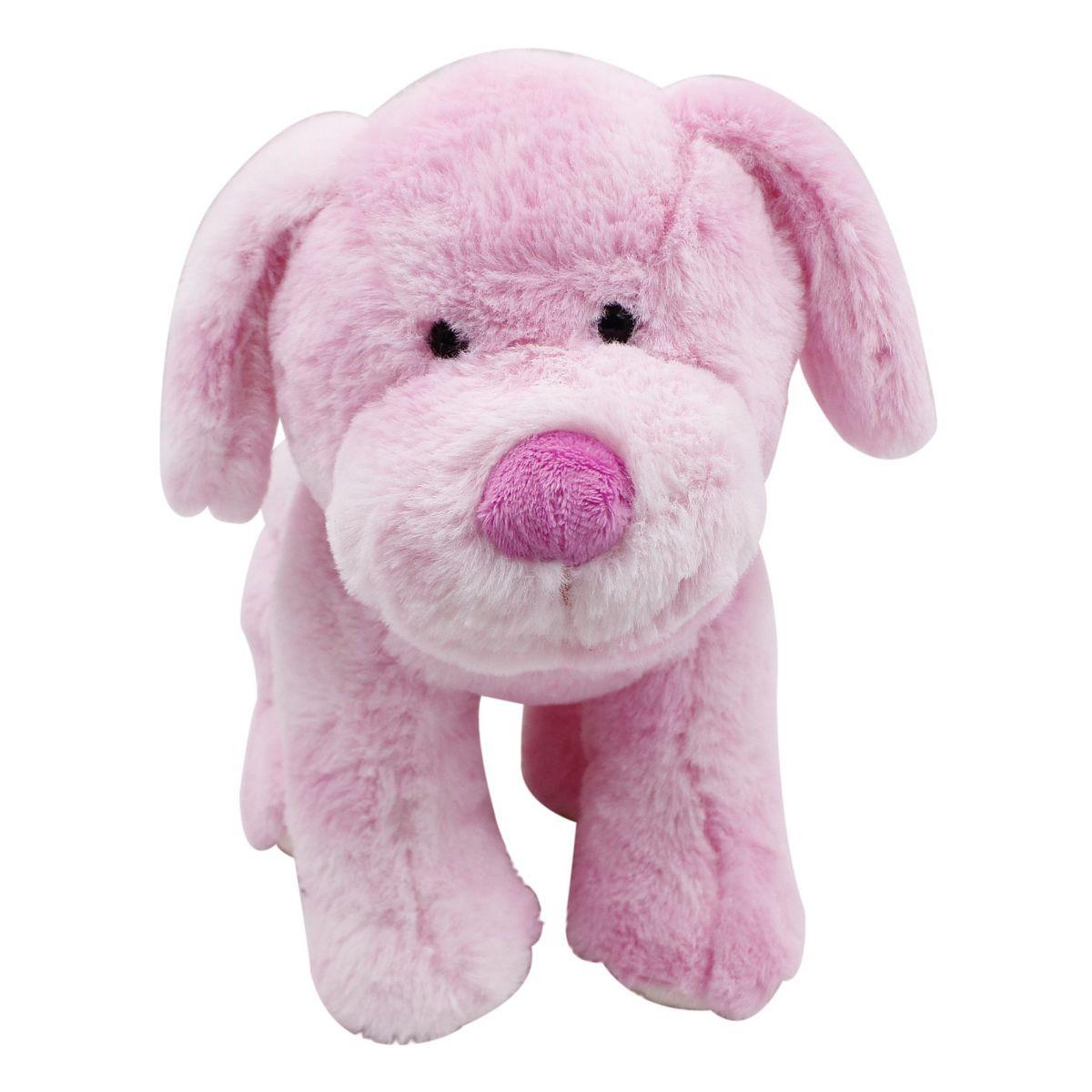 Plyšové zvieratko Ružový psík 30cm
