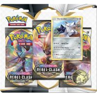 Pokémon TCG: SWSH02 Rebel Clash 3 Blister Booster