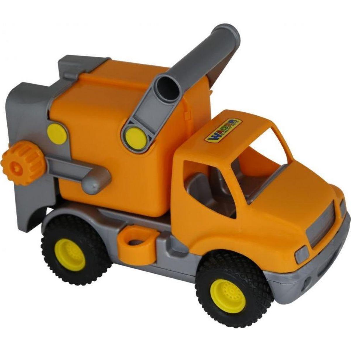 Polesie Auto ConsTruck popeláři Oranžové