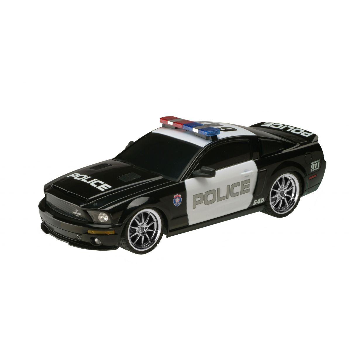 Policajné RC auto Ford GT 500 1:18