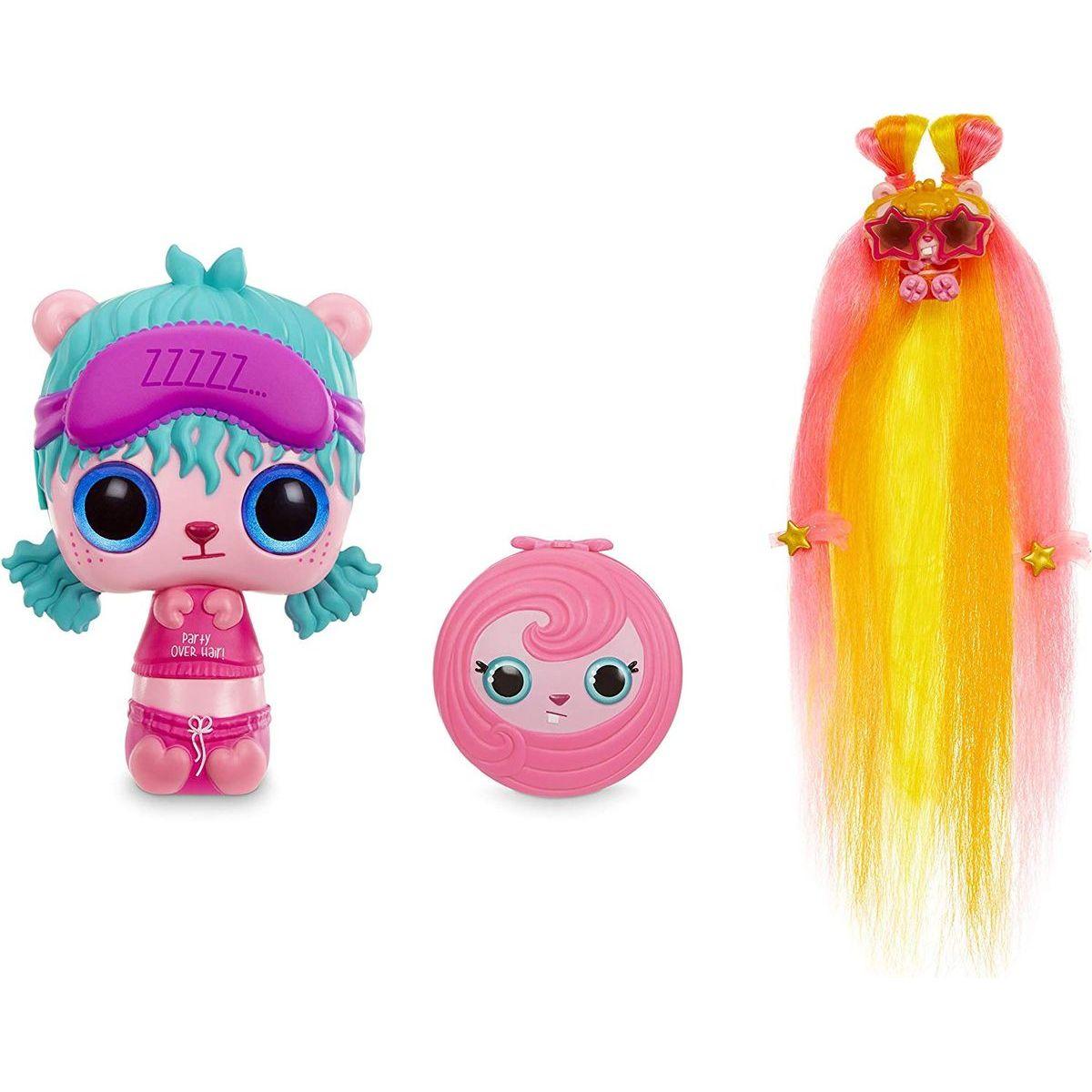 Pop Pop Hair Surprise 3-in-1 Pops 1. series fialová čelenka ZZZZZ