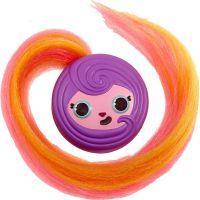 Pop Pop Hair Surprise 3-in-1 Pops 1. series fialové vlasy s mašličkou 5