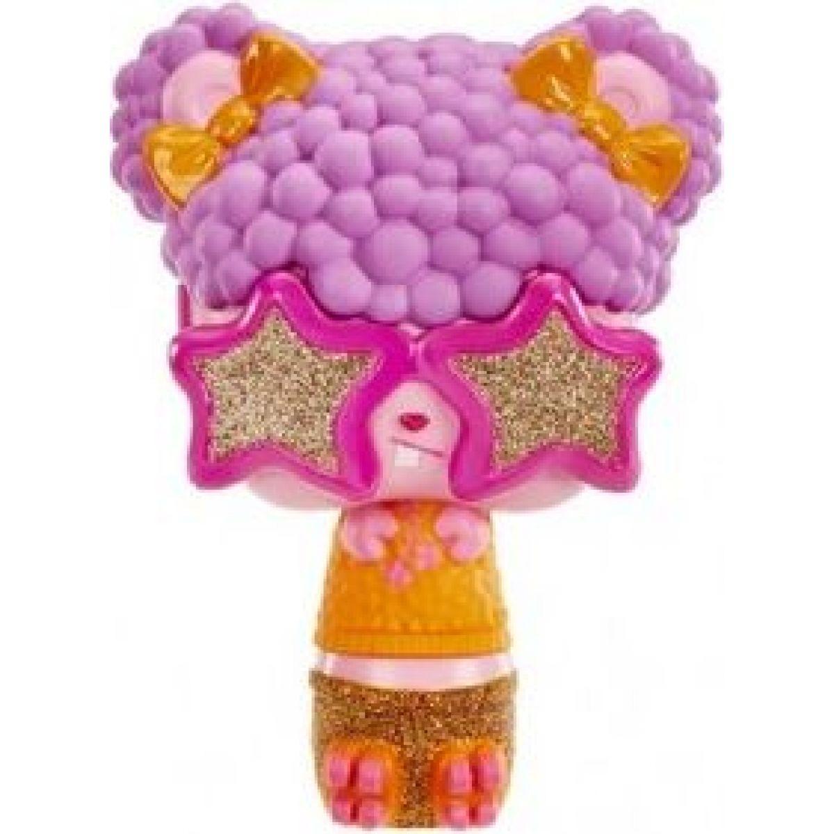 Pop Pop Hair Surprise 3-in-1 Pops 1. series ružové okuliare, fialové vlasy