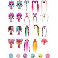 Pop Pop Hair Surprise 3-in-1 Pops 1. series ružové vlasy a mašličkou 3