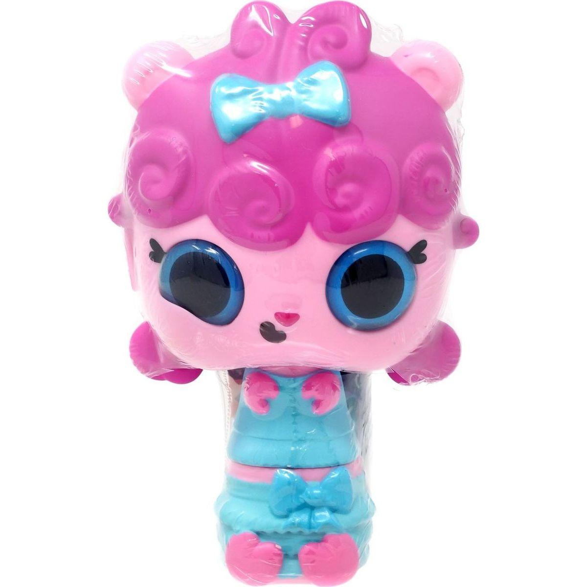 Pop Pop Hair Surprise 3-in-1 Pops 1. series ružové vlasy a mašličkou