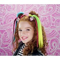 Pop Pop Hair Surprise 3-in-1 Pops 1. series zlaté okuliare, ružové vlasy 4