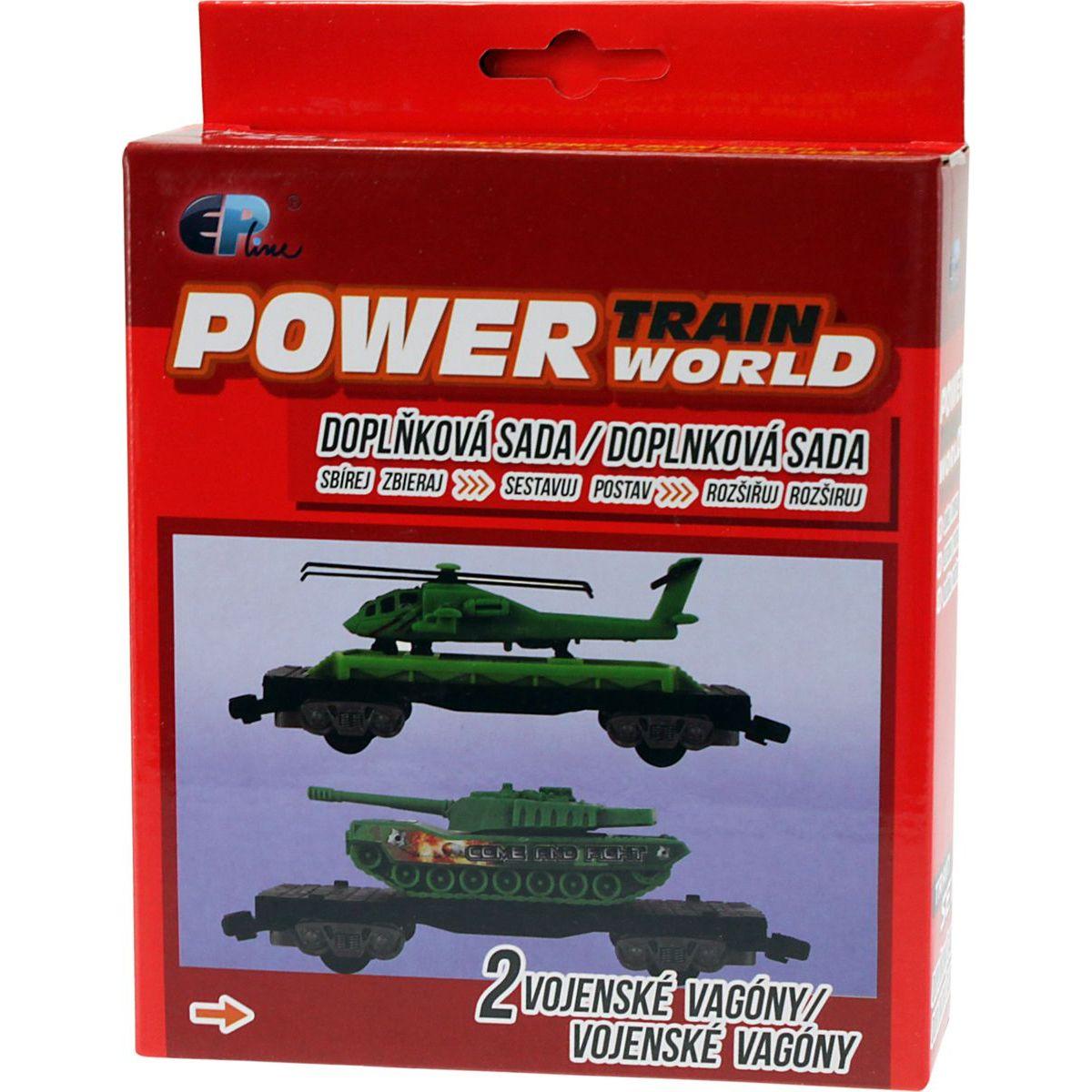 Power Train World Vojenské vagóny