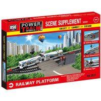Power Train World Železniční přejezd