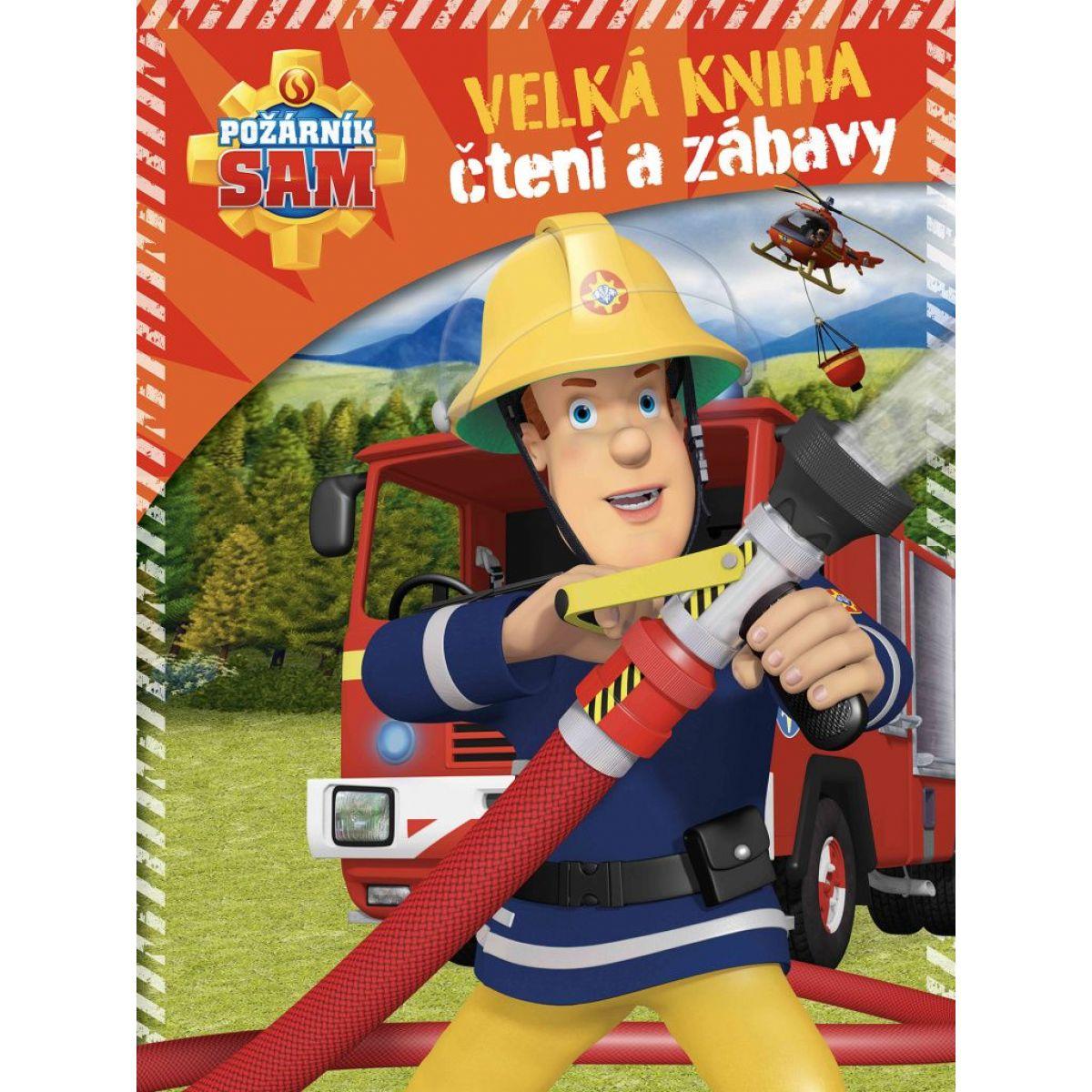 Požiarnik Sam Velká kniha čítanie a zábavy