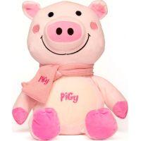 Prasátko Pigy s růžovou šálou 30,5 cm