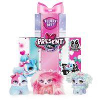 Spin Master Present Pets maznavý Mini plyšové hračky trojbalení