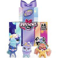 Spin Master Present Pets Vesmírni Mini plyšové hračky trojbalení