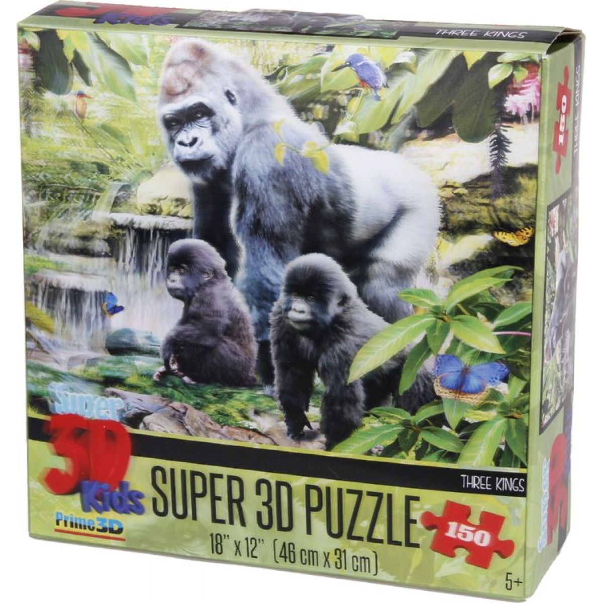Lamps 3D Opičia rodina 150 dielov