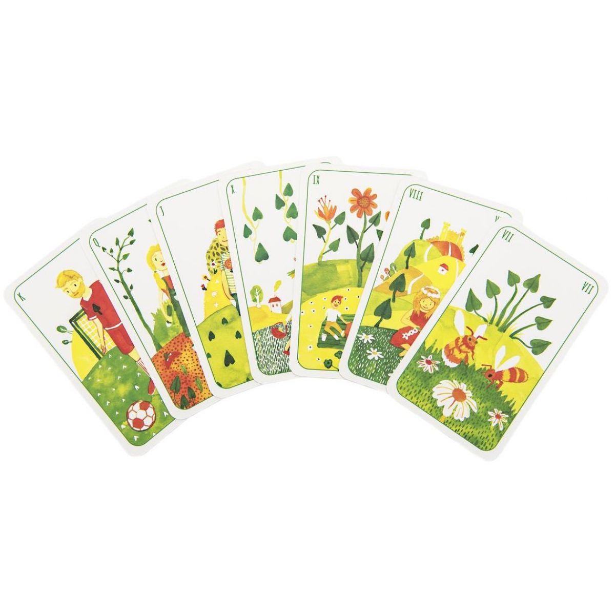 Prší jednohlavé karty pre deti Štyri ročné obdobia