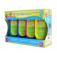 Crayola Mini Kids Prstové farby 4ks