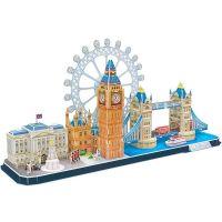CubicFun Puzzle 3D City Line Londýn 107 dielikov 3