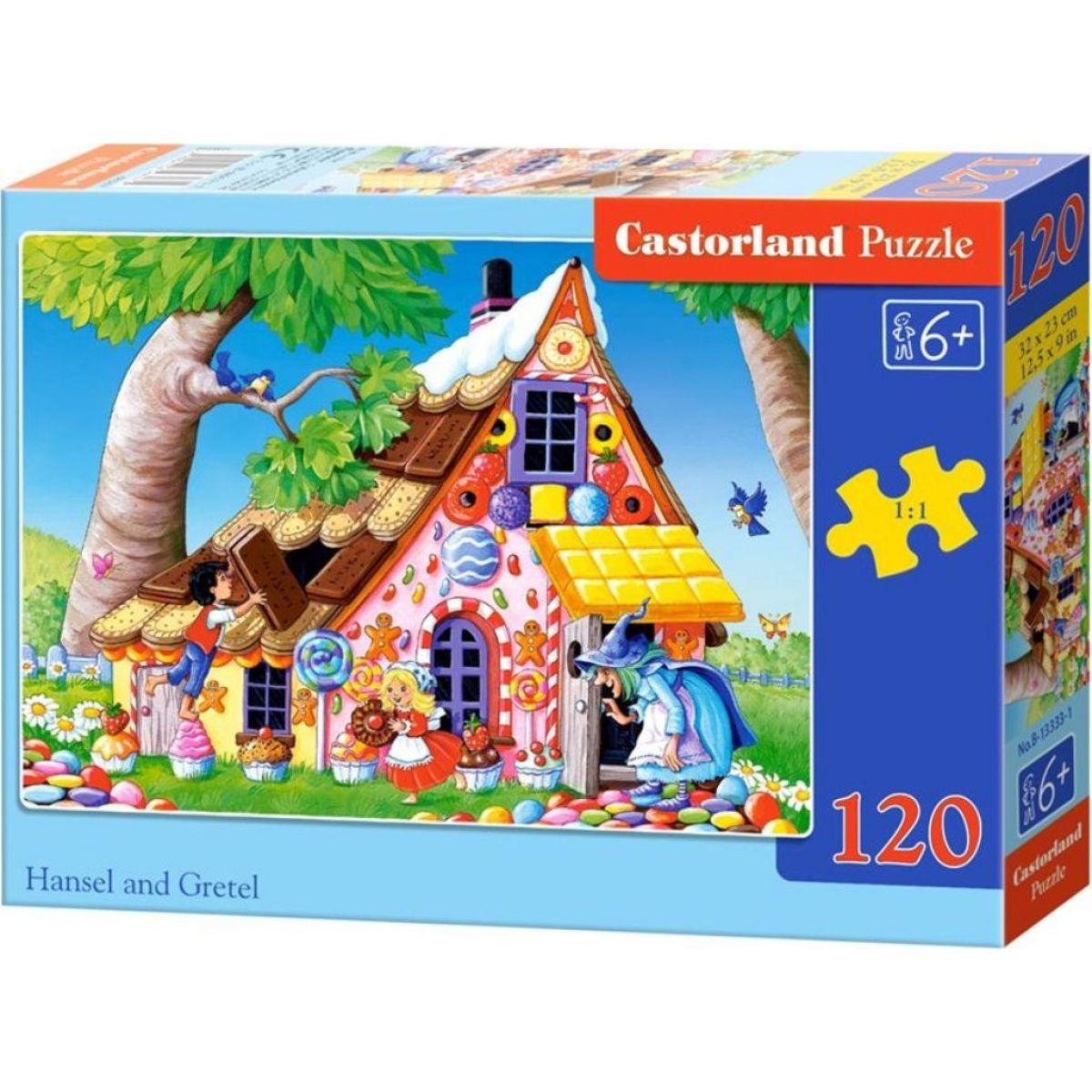 Puzzle Castorland 120 dielikov Janko a Marienka