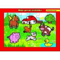 Puzzle deskové Moje první zvířátka farma 24 dílků