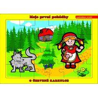 Puzzle deskové O Červené Karkulce 24 dílků