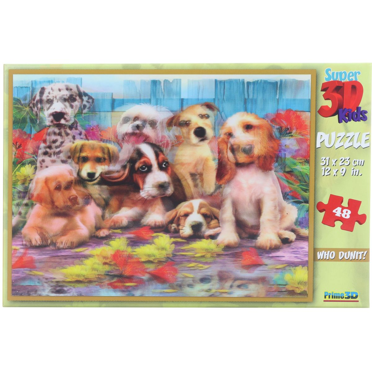 Puzzle Psy 48 dielikov 3D