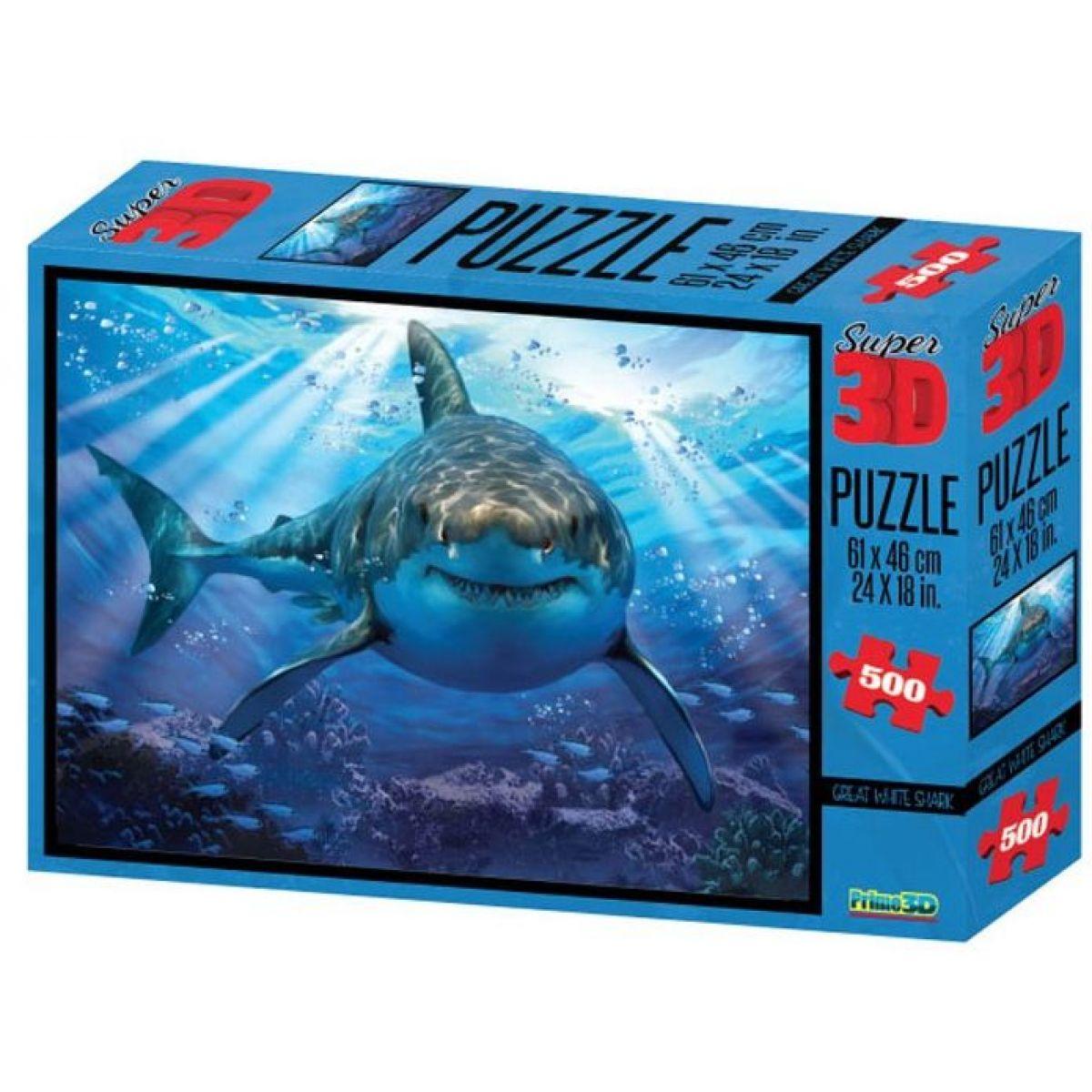 Lamps 3D Žralok 500 dílků