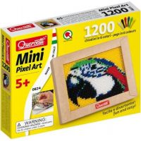 Quercetti Mini Pixel Art papagáj