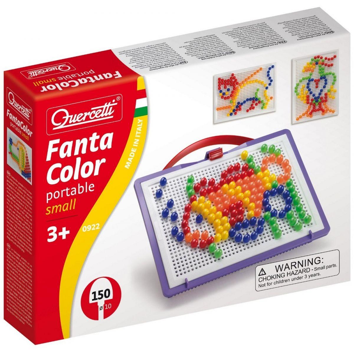 Quercetti Mozaika Fantacolor Portable 150 ks ryba