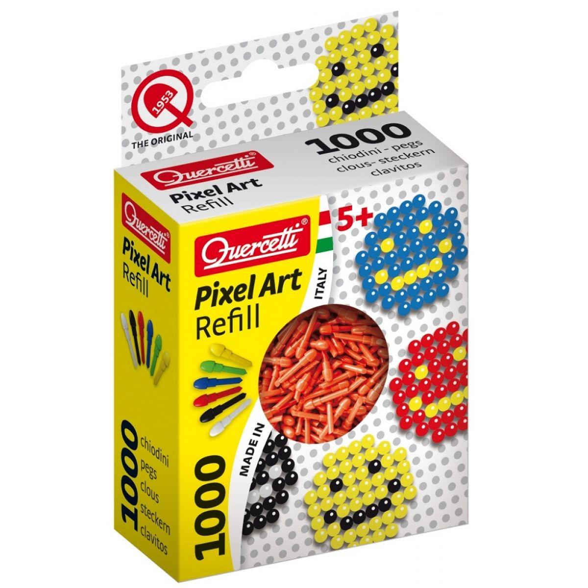 Quercetti Pixel Photo Art 1000 – červená