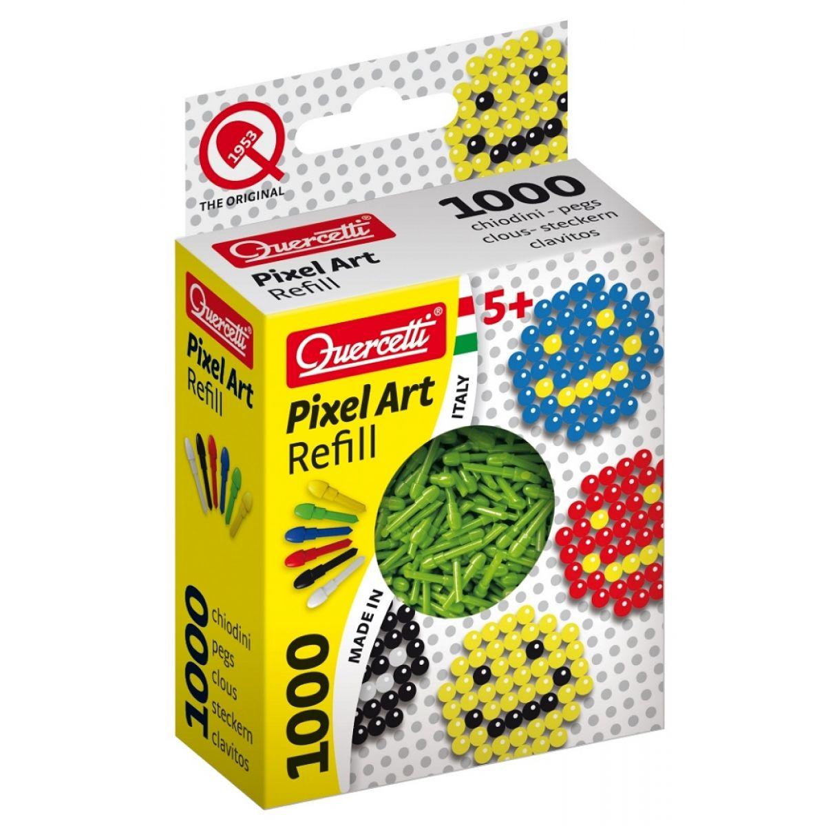 Quercetti Pixel Photo Art 1000 – zelená