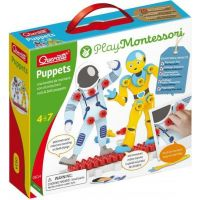 Quercetti Puppets nuts & bolts puppets – postavičky so skrutkami a matičkami