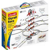Quercetti Skyrail Race parallel track racing – dvojitá závesná guľôčková dráha