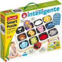 Quercetti Smart Puzzle Magnetická skladačka