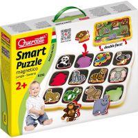 Quercetti vkládačka Smart puzzle magnetico Džungle savana