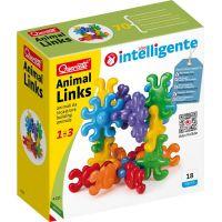 Quercetti Stavebnica pre najmenších Animal Links