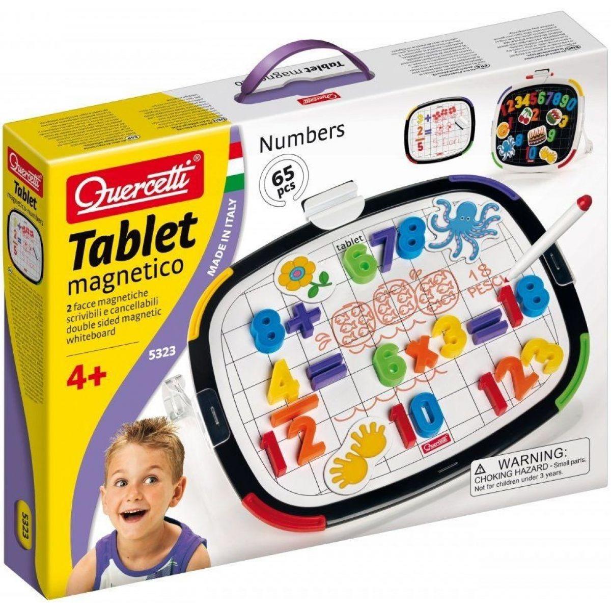 Quercetti Tablet magnetic Numeri