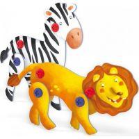 Quercetti Tecno 3D Puzzle lev a zebra 2