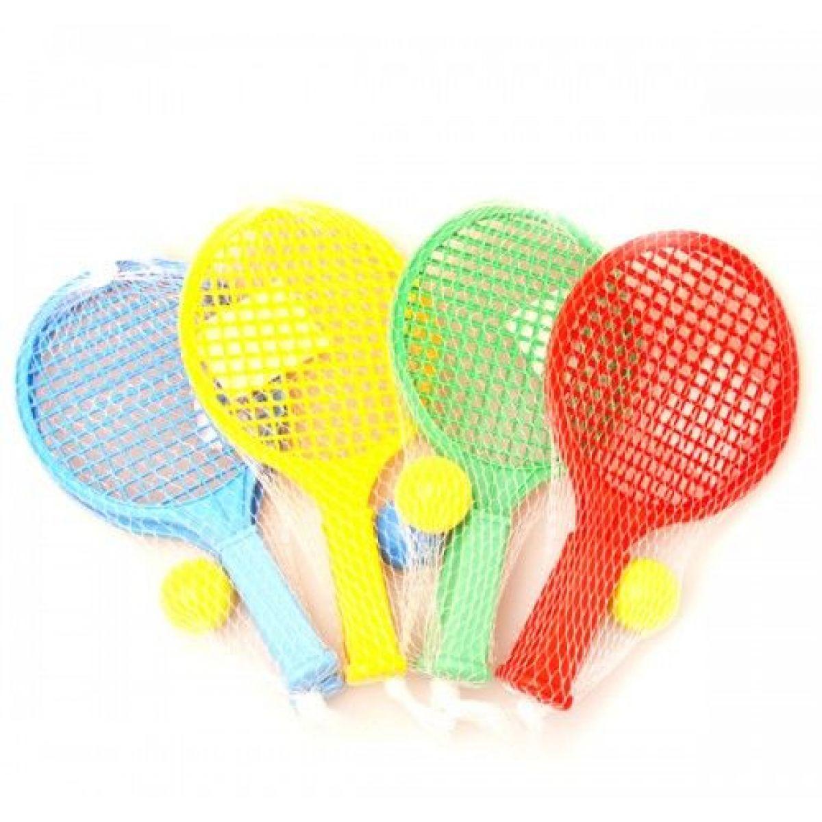 Toy Raketa plážová malá soft tenis farebný