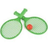 Toy Raketa plážová malá soft tenis farebný 4