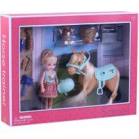 Rappa Kôň česacie s bábikou a príslušenstvom