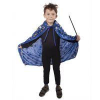 Rappa dětský čarodějnický plášť modrý 2