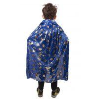 Rappa dětský čarodějnický plášť modrý 4