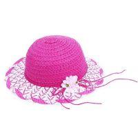 Rappa Detský slamený klobúk