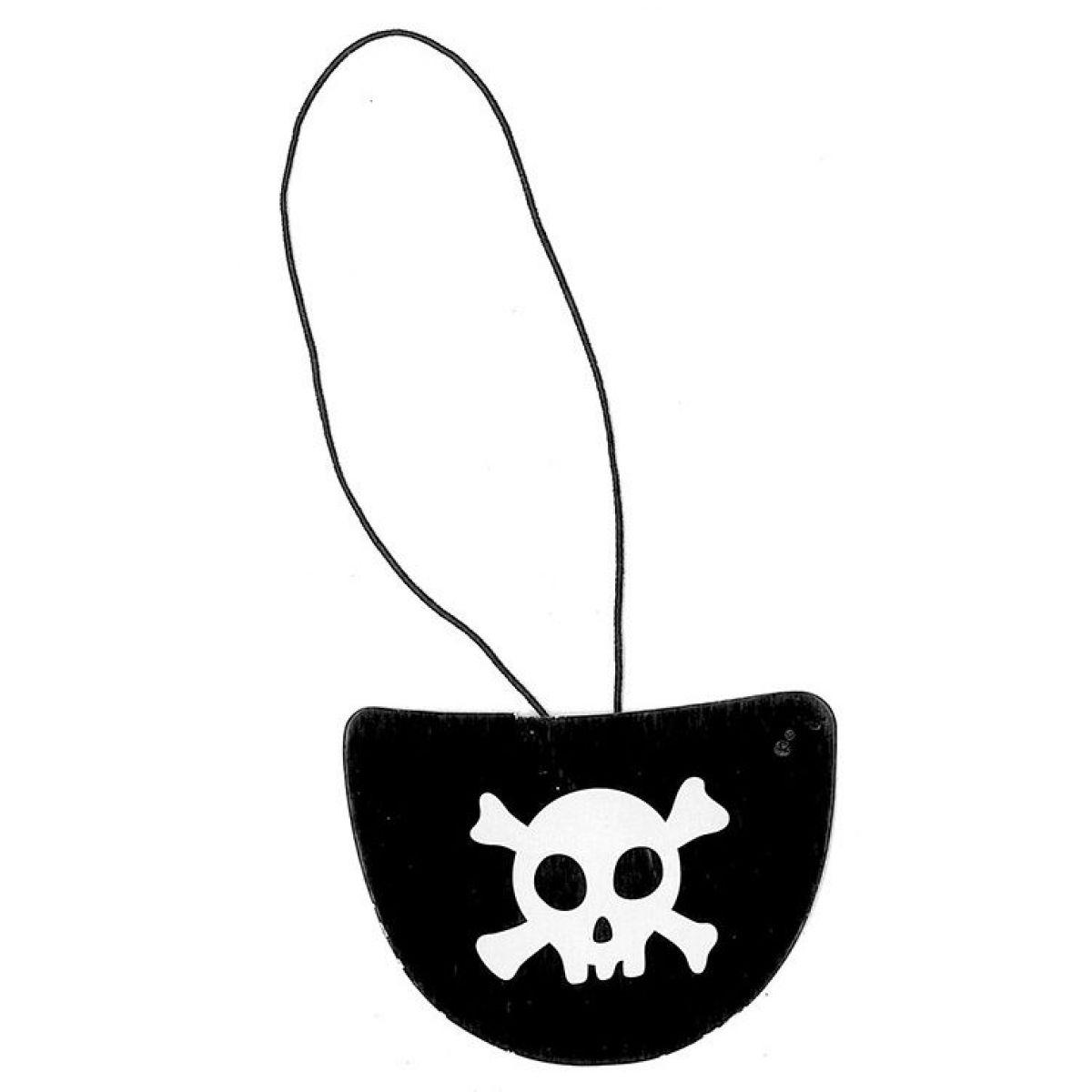 Rappa Klapka na oko pirátska 6 ks v balení